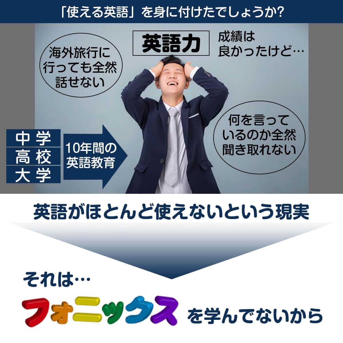 日本の使えない英語教育